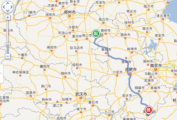 郸城乡镇地图全图
