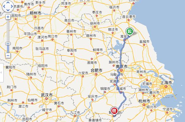 涟水各乡镇地图