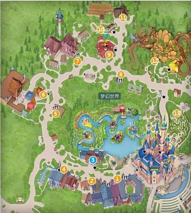 上海迪士尼梦幻世界