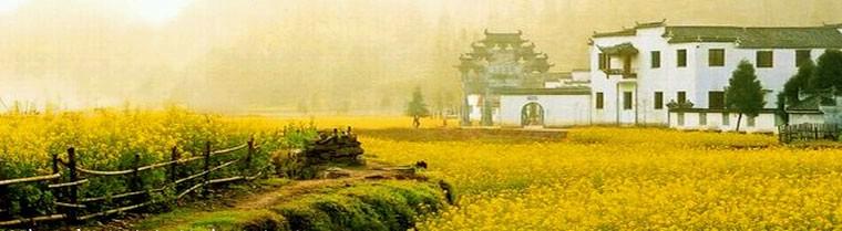 黄山古村落