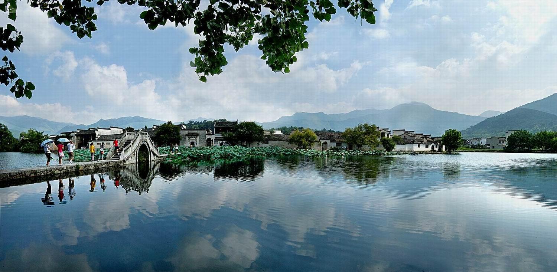 宏村南湖风光